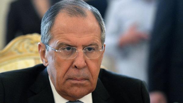 Лавров назвал бредовыми высказывания руководства Украины