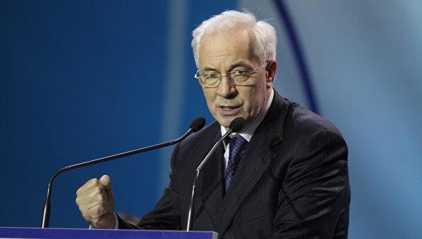 Украина потеряла Крым де-факто и де-юре, — Азаров