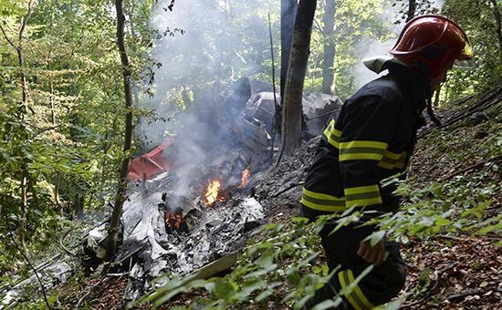В Словакии столкнулись два самолета. Есть жертвы