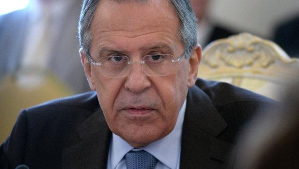 Призывы к Киеву пропорционально применять силу лицемерны, — Лавров