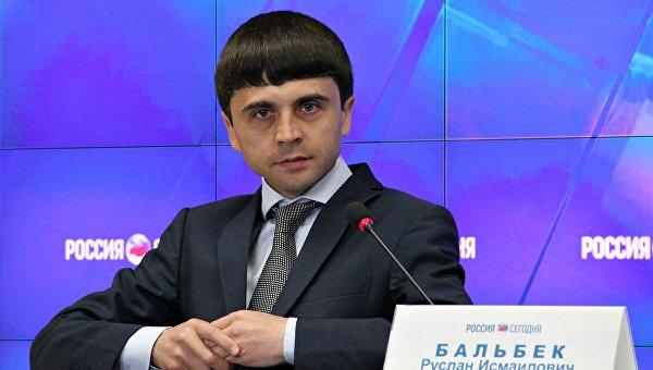 Бальбек: Не думаю, что Чубаров взберется на столб и будет зубами перегрызать кабель