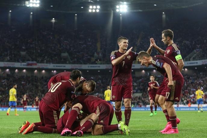 Сборная России обыграла Швецию в отборе на Евро-2016