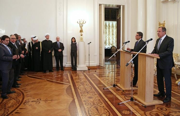 Лавров: Россия выступает за стратегию стабилизации Ближнего Востока