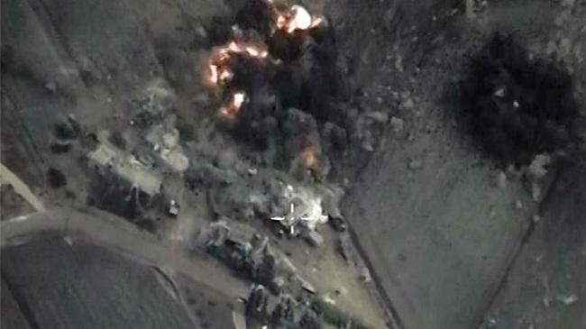 Авиация России нанесла новые удары в Сирии