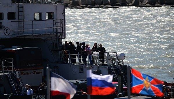 Грузопоток через Керченскую переправу увеличился вдвое