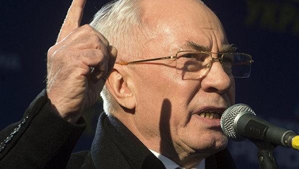 Киевский режим ведет страну в никуда, — Азаров