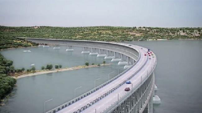 На месте строительства Керченского моста установлены собственные метеостанции
