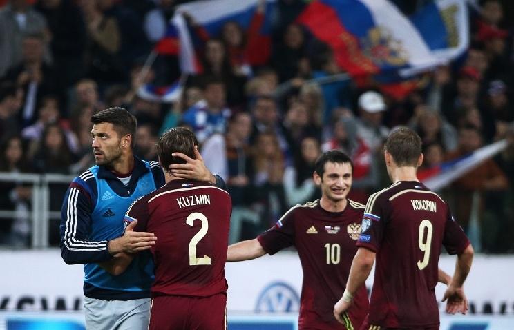 Сборная России поднялась на шесть позиций в рейтинге ФИФА