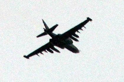 На Украине севернее Запорожья разбился Су-25