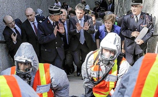 Французские власти не исключают, что террористы могут использовать химическое и биологическое оружие