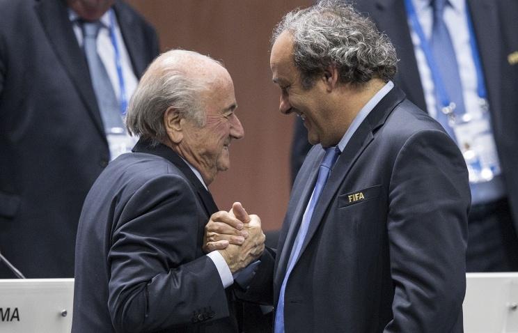 Платини и Блаттер отстранены от футбола на 8 лет каждый