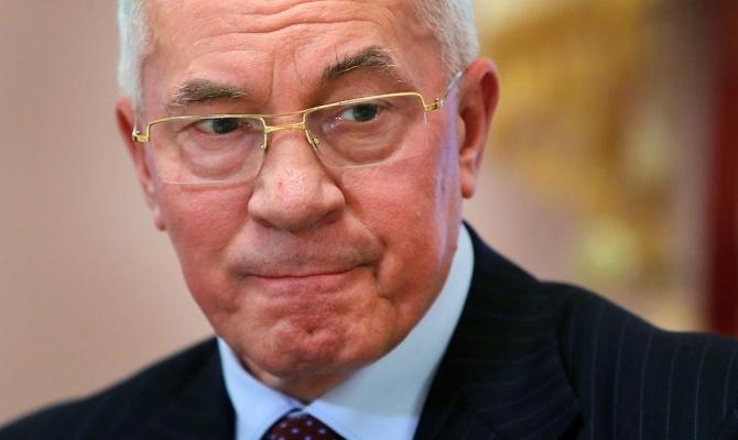 Европа сняла санкции с бывшего украинского премьера Азарова и членов его кабмина