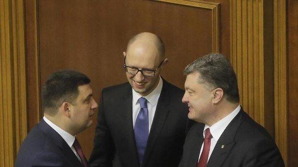 Экс-генпрокурор Украины придумал, за что арестовать Порошенко, Яценюка и Гройсмана