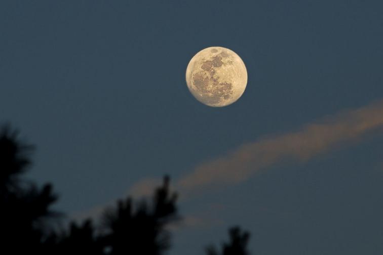 В ноябре крымчане увидят огромную супер-Луну