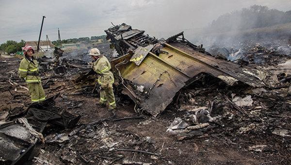Россия готова помочь в расшифровке данных с разбившегося на Украине Boeing