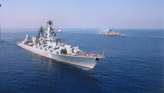 Боевые корабли ЧФ провели ракетные стрельбы