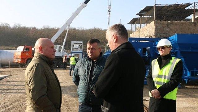 К концу марта в Севастополе начнет работу асфальтобетонный завод