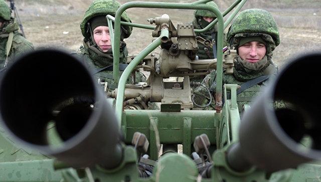 В Крыму прошли учебные стрельбы