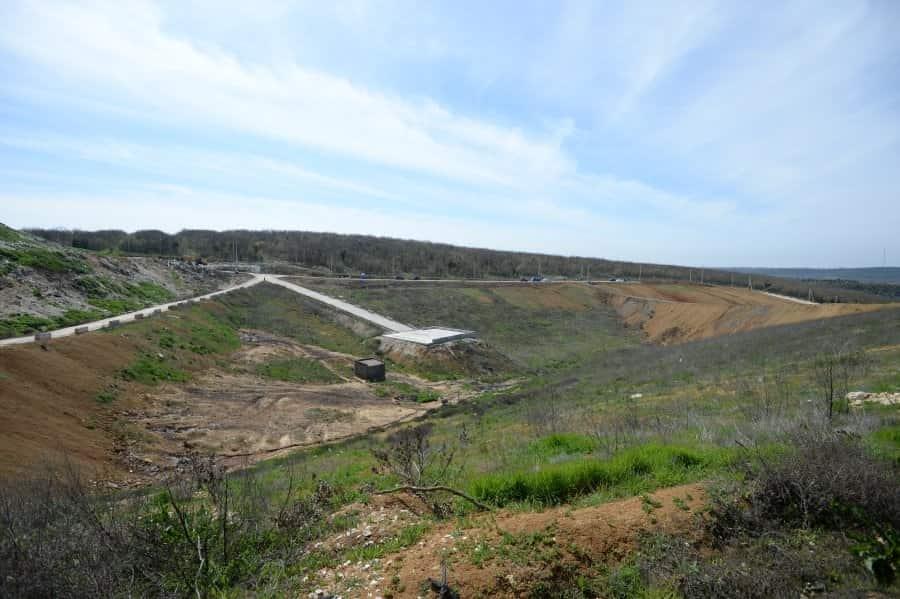 Полигон ТБО в Севастополе расширили на 13 млн кубометров