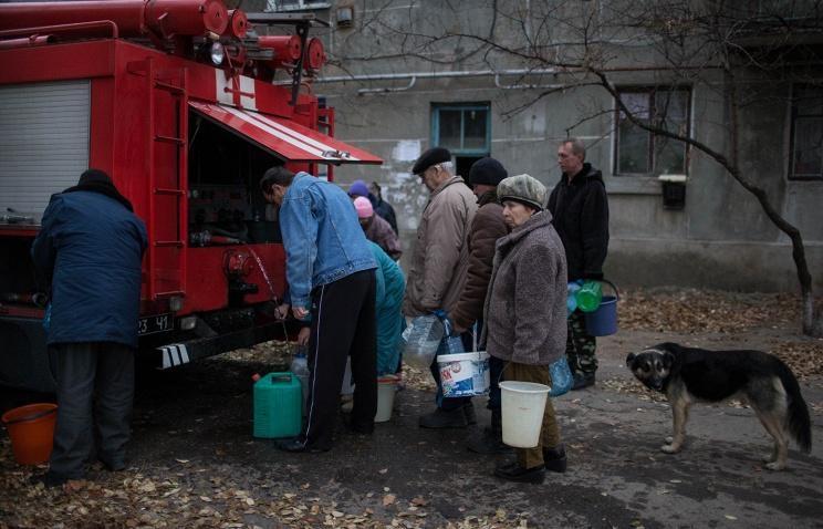 Украина обвинила Россию в гуманитарной катастрофе Донбасса