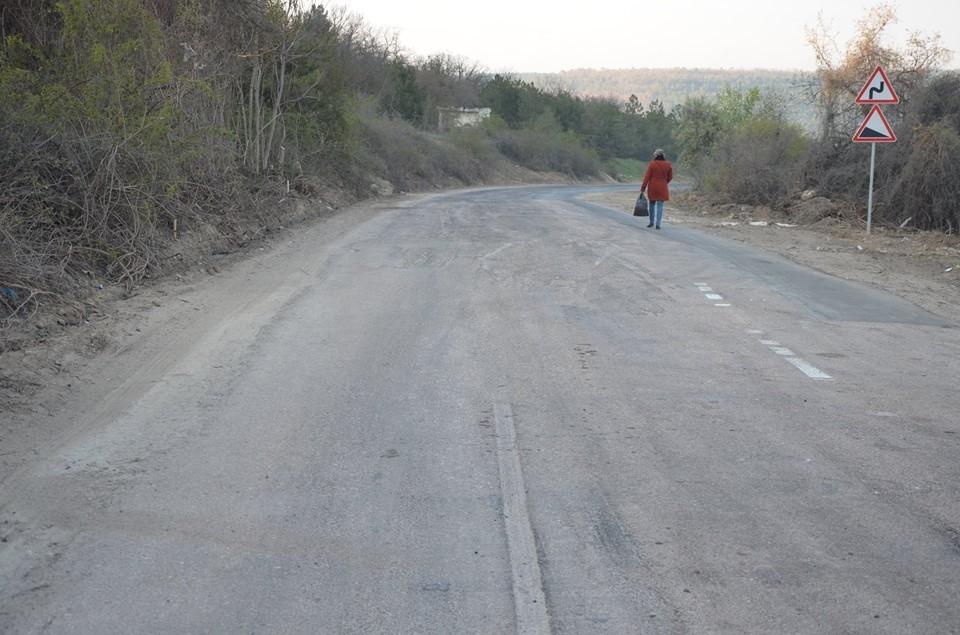 В Севастополе открыли объездную дорогу через Поворотное