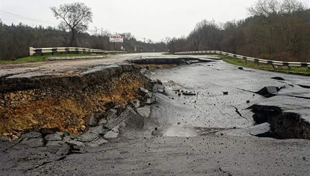 Севастопольский оползень проинспектирует Минтранс