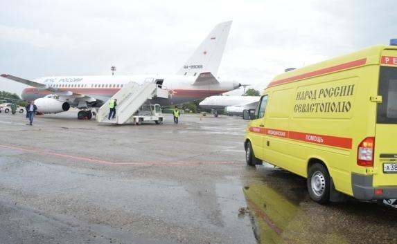 Пострадавшего в ДТП 4-летнего севастопольца доставили на лечение в Москву