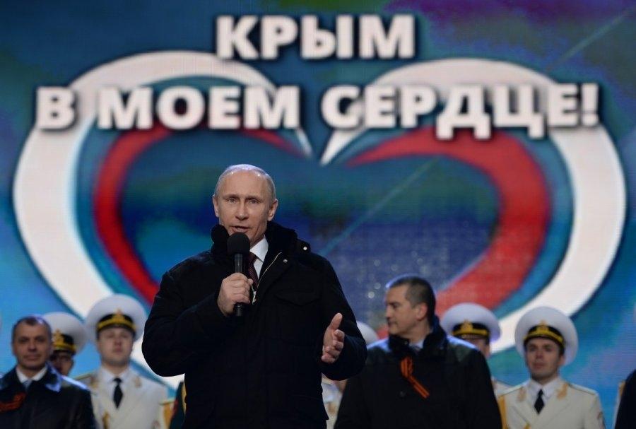 Путин заявил, что Россия готова защищать Крым всеми доступными средствами