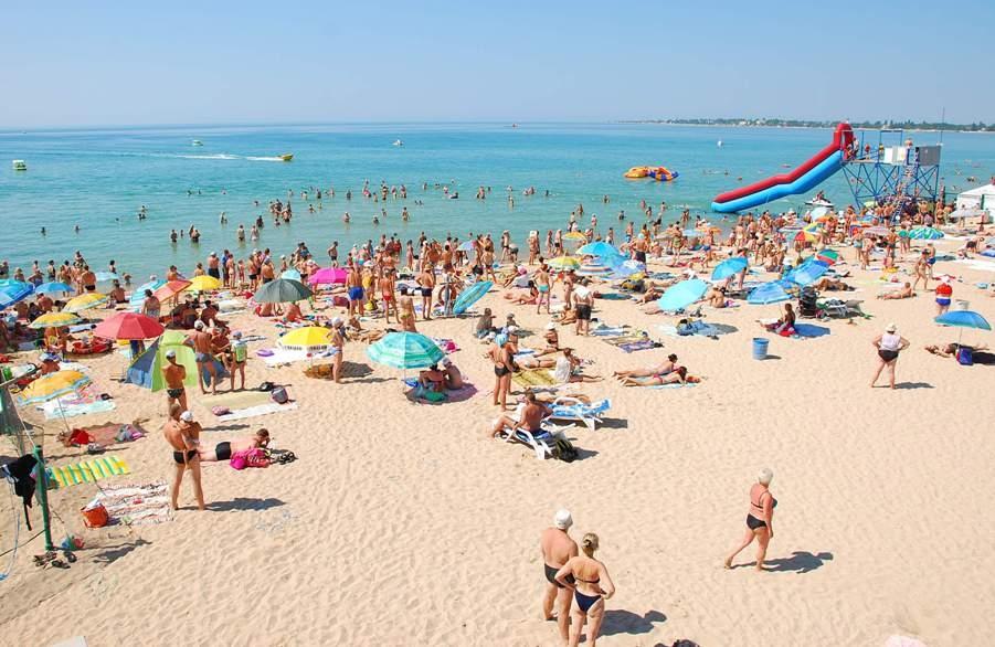 Крымские пляжи будут снимать с квадрокоптера