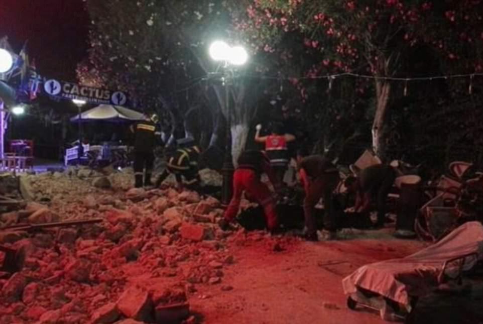 Мощное землетрясение в Турции и Греции: есть жертвы
