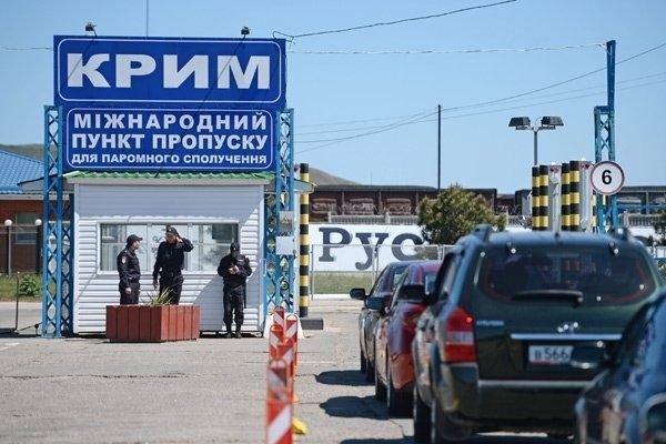Украинцы начали стрельбы возле границы с Крымом