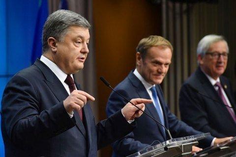 Порошенко хочет провести саммиты Украина – ЕС в Ялте