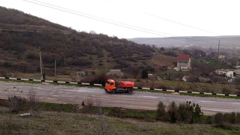 В районе села Поворотное победили оползень