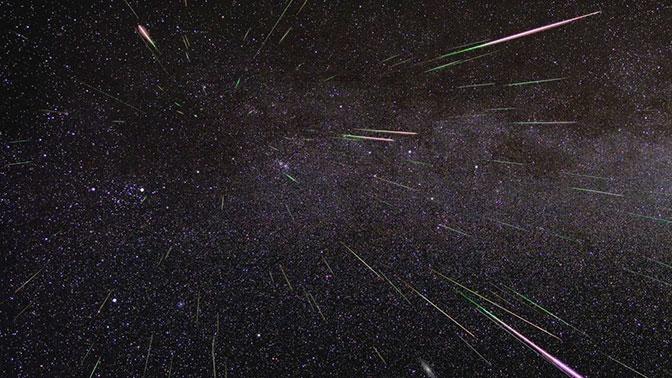 Этой ночью крымчане увидят зрелищный звездопад