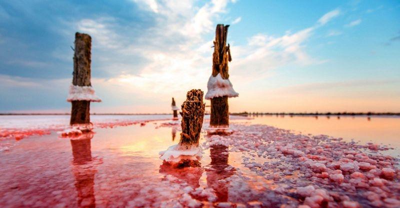 Крупнейшему соленому озеру Крыма грозит экологическая катастрофа