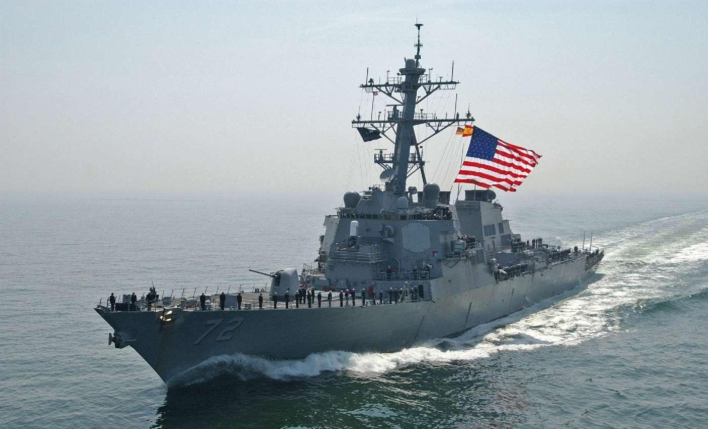 Военные корабли США деблокируют Керченский пролив