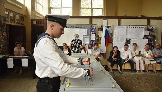В Севастополе впервые проходят выборы губернатора
