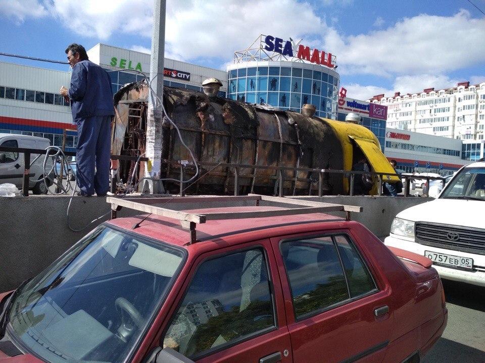 В Севастополе «расправились» с желтым фургоном Олега Николаева