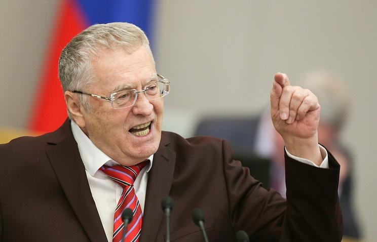 Жириновский: Собчак за слова о Крыме следует посадить «лет на пять»
