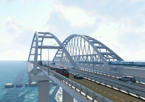 Съезд с Крымского моста в Керчь не предусмотрен