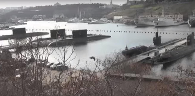 Плачевное состояние кораблей Украины в Севастополе показали на видео