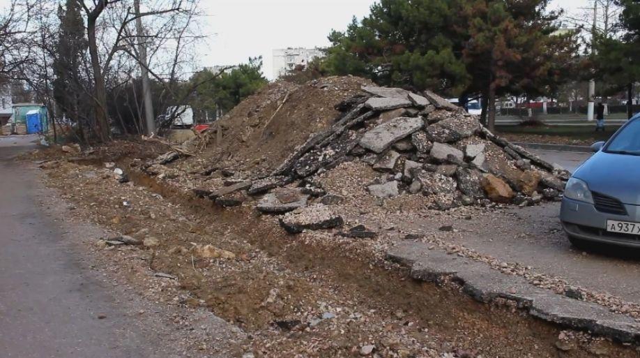 В Севастополе приступили к ремонту самой убитой дороги города