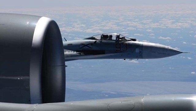 Над Черным морем перехвачен самолет-разведчик ВМС США