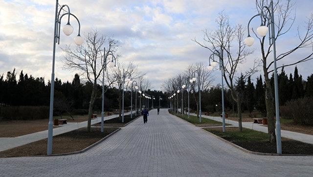 В Севастополе после реконструкции открыли парк имени Ахматовой