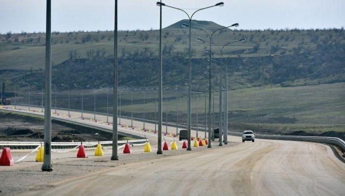 Дорога к Крымскому мосту готова на 77%