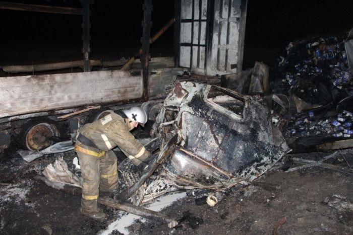 Причиной массового ДТП с семью погибшими в Крыму могла стать ошибка при обгоне