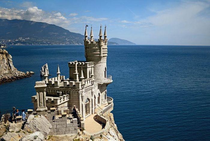 Ласточкино гнездо попало в список самых романтичных зданий мира