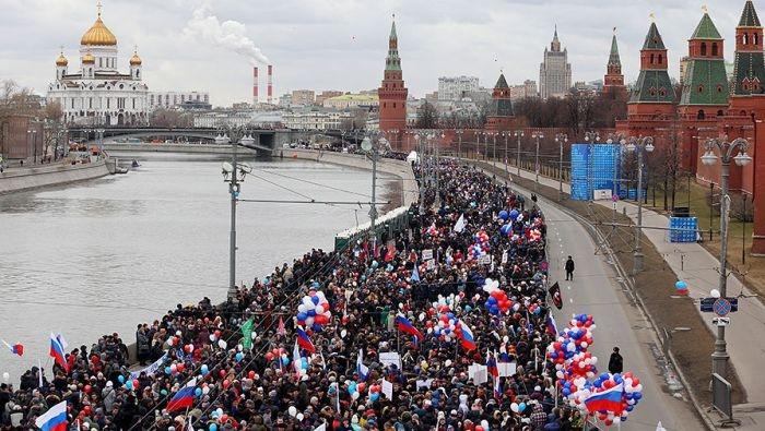 В Москве 18 марта пройдет митинг-концерт в честь Крыма и Севастополя