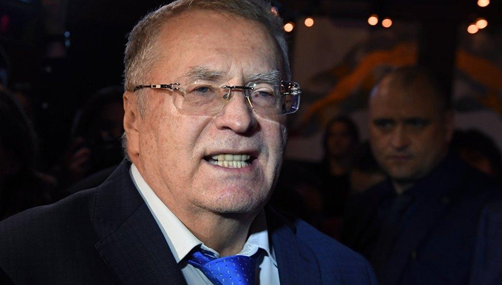 Жириновский назвал позором то, как проголосовали за него в Крыму и в Севастополе