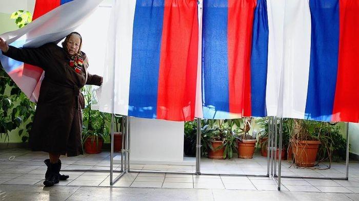 Как западные СМИ показали выборы президента в России